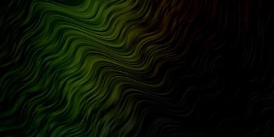 dunkles mehrfarbiges Vektormuster mit schiefen Linien.