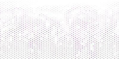 ljuslila vektormall med cirklar.