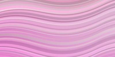 ljusrosa vektormönster med sneda linjer. vektor