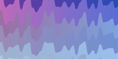leichte mehrfarbige Vektortextur mit Kurven.