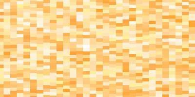 hellorange Vektor Textur im rechteckigen Stil.