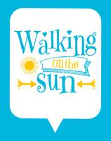 Niedliches typografisches Kinderplakat mit Sun-Zitat