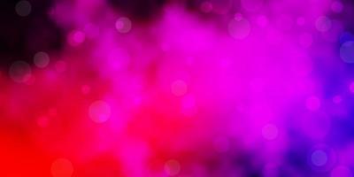 ljusrosa vektor bakgrund med fläckar.