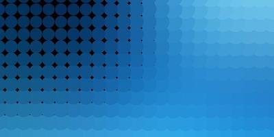 hellblauer Vektorhintergrund mit Flecken.