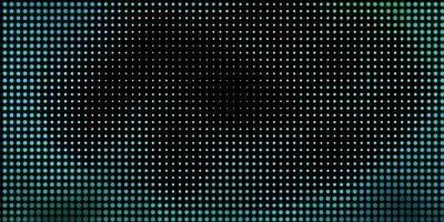 hellblauer, grüner Vektorhintergrund mit Punkten.