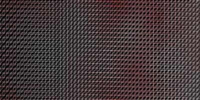 mörk röd vektor bakgrund med linjer.