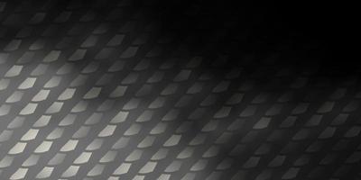 mörkgrå vektormönster i fyrkantig stil.