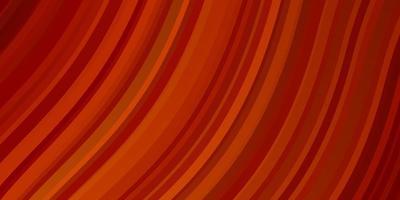 ljus orange vektormall med sneda linjer.