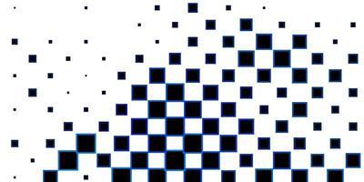 dunkelblauer Vektorhintergrund im polygonalen Stil.
