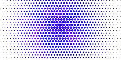 hellvioletter Vektorhintergrund mit Blasen.