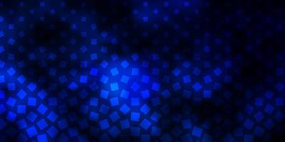 dunkelblauer Vektorhintergrund mit Rechtecken.