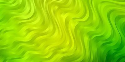 ljusgrönt, gult vektormönster med sneda linjer.
