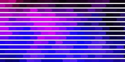 mörk lila, rosa vektormall med linjer.