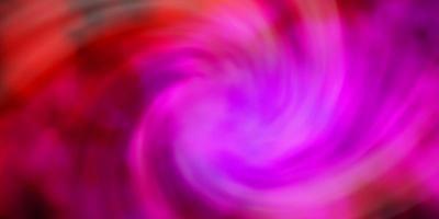 mörkrosa vektorbakgrund med moln.