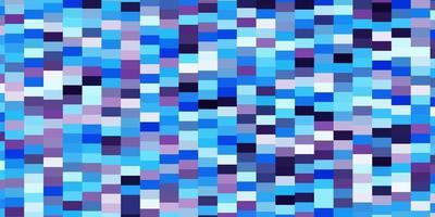 hellrosa, blauer Vektorhintergrund im polygonalen Stil.