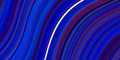 hellblaue, rote Vektortextur mit Kreisbogen. vektor