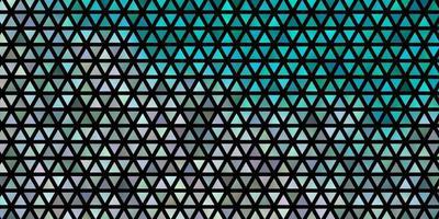 ljusblå vektor bakgrund med månghörnigt stil.