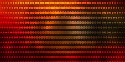 ljusgrön, röd vektorbakgrund med cirklar.