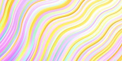 ljus flerfärgad vektor mönster med linjer.
