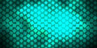 mörkgrön vektorlayout med linjer, rektanglar.