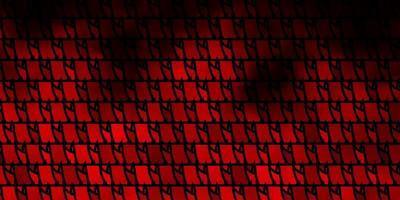 dunkeloranger Vektorhintergrund mit polygonalem Stil.