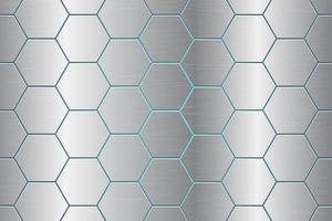 abstrakte Hintergrundvektorentwurfillustration des metallischen Kamms vektor