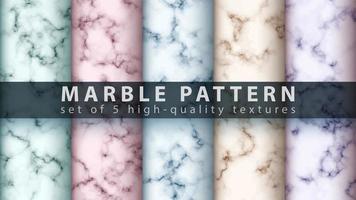 Marmor Textur Muster Hintergrund gesetzt