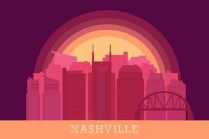 Nashville-Vektoren vektor
