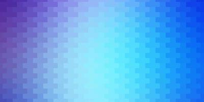 ljusrosa, blå vektormönster i fyrkantig stil.