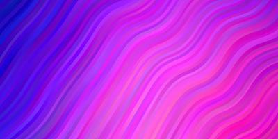 ljuslila, rosa vektorlayout med cirkelbåge.