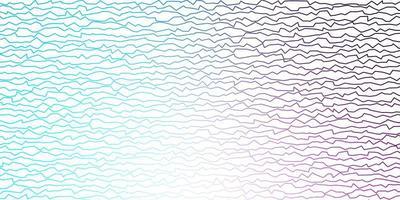 dunkelrosa, blaues Vektorlayout mit schiefen Linien