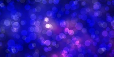 mörk lila vektor konsistens med skivor.