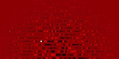 mörk orange vektormall med cirklar.