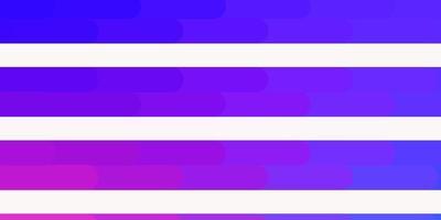 hellrosa, blaues Vektorlayout mit Linien.