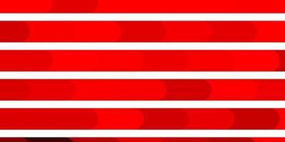 mörkrött vektormönster med linjer.