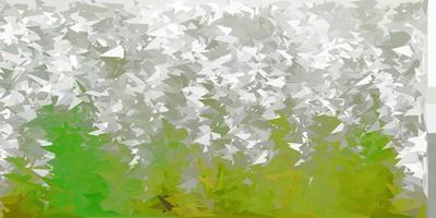 hellgrauer Vektor abstrakter Dreieckhintergrund.