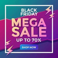 svart fredag mega försäljning