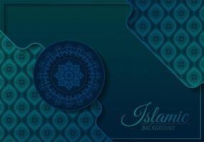 Luxus-Mandala-Hintergrundkonzept vektor