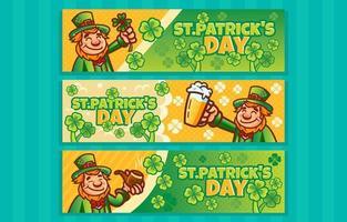 Kobold feiern St. Patricks Tag vektor