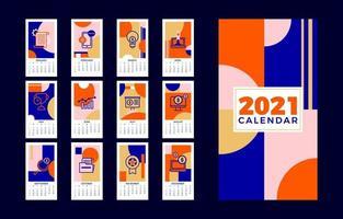künstlerischer Geschäftskalender 2021