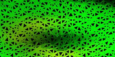 ljusgrönt, gult månghörnigt mönster.