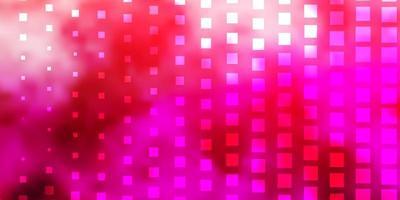 ljusrosa vektorbakgrund med rektanglar.