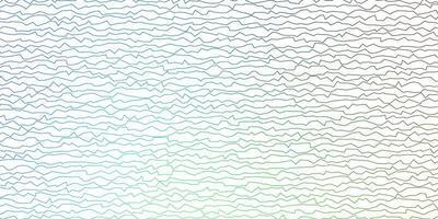 mörkblå, grön vektormall med linjer.