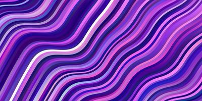 hellrosa Vektorhintergrund mit Linien.