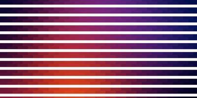 dunkelrosa, gelber Vektorhintergrund mit Linien. vektor