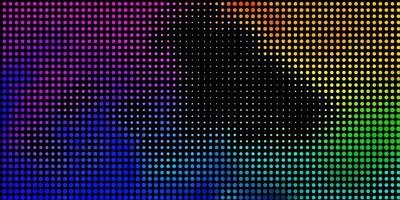 ljus flerfärgad vektorstruktur med skivor.