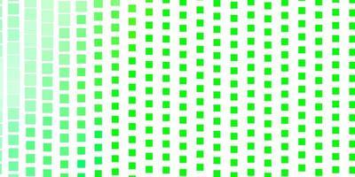 hellgrüner Vektorhintergrund mit Rechtecken.