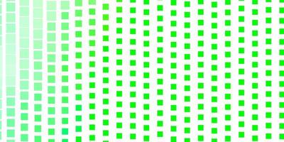 ljusgrön vektorbakgrund med rektanglar.