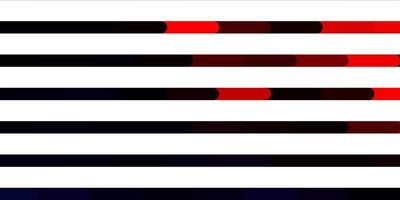 dunkelrotes Vektormuster mit Linien.