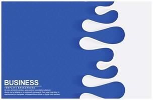 abstrakter blauer Flüssigkeitswellenhintergrund
